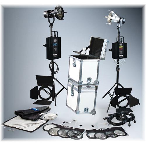 K 5600 Lighting Joker-Bug 400W/800W HMI 2 Case Combo Kit (90-265VAC)