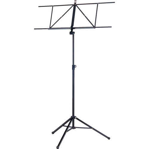 K&M 10041 Robby Extra-Wide Music Stand (Black)