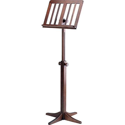 K&M 116/1 Wood Music Stand (Walnut)
