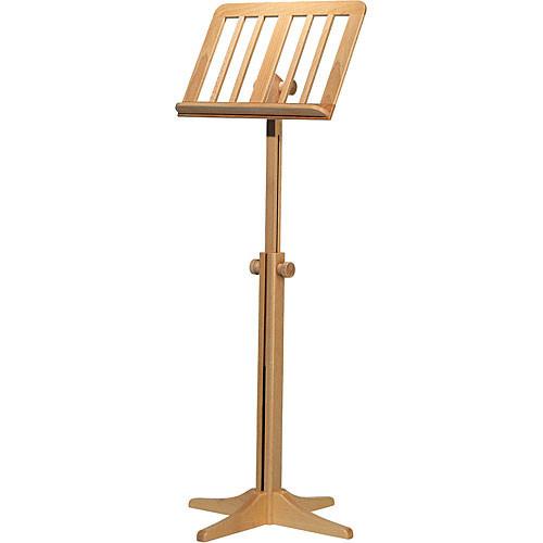 K&M 116/1 Wood Music Stand (Beech)