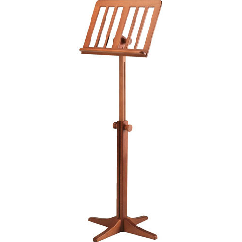 K&M 116/1 Wood Music Stand (Cherry)