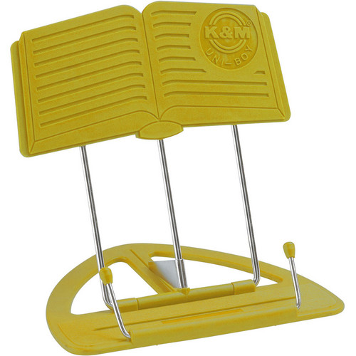 K&M 12450-012-61 Uni-Boy Classic Stand (12-pack, Yellow)
