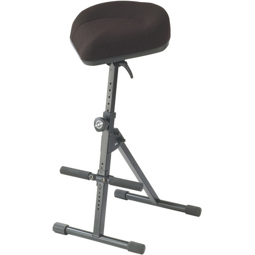 K&M 14047 Musician's Stool (Black  Fabric)