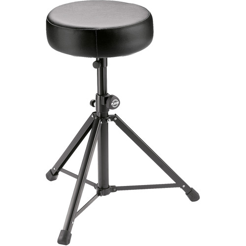 K&M 14052 Multi-Purpose Stool (Black Imitation Leather)