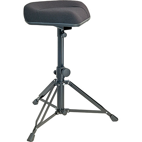 K&M 14055 Ergonomic Drummer's Throne (Imitation Leather)