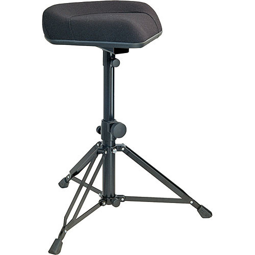 K&M 14056 Ergonomic Drummer's Throne (Black Fabric)