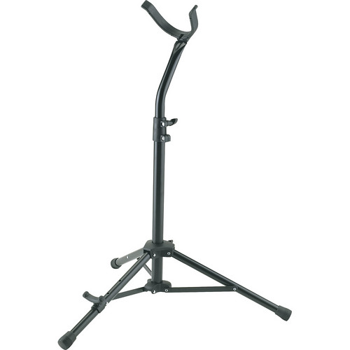 K&M 14410-000-55 Baritone Saxophone Stand (Black)