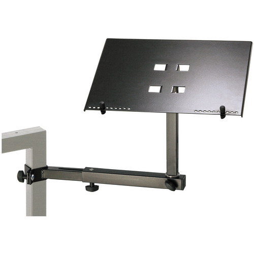 K&M 18815 Laptop Holder (Black)