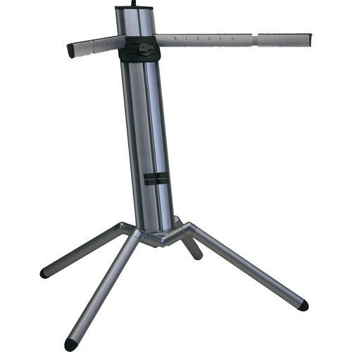 K&M 18840 Baby Spider Pro Keyboard Stand (Black Aluminum)