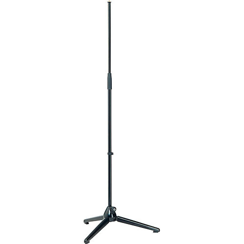 K&M 200 Telescoping Microphone Stand (Black)