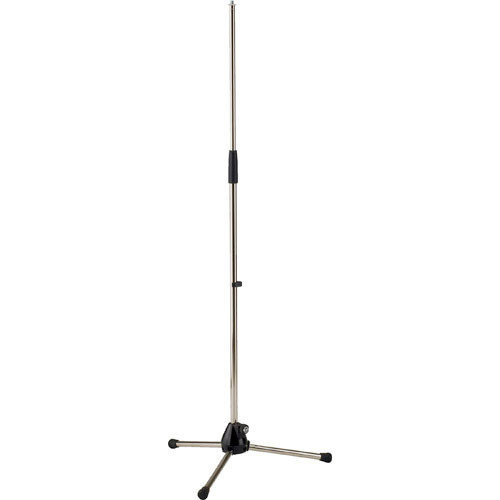 K&M 201A/2 Tripod Microphone Stand (Nickel)