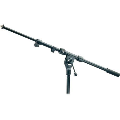K&M 211/1 Telescoping Boom Arm (Black)