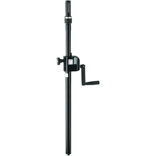 K&M 21340 Steel Rod with Hand Crank & Ring Lock