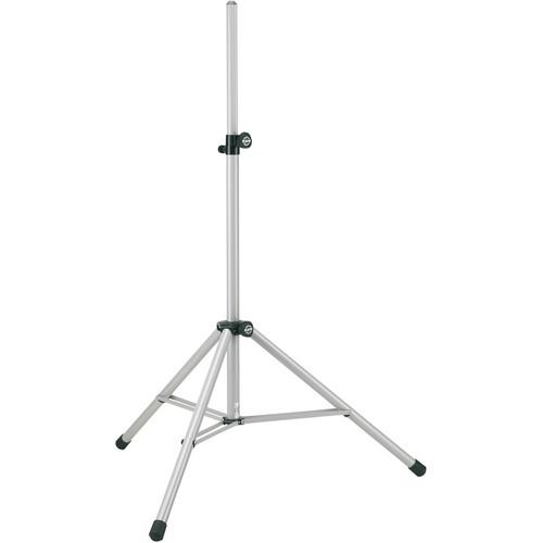 K&M 214/6 Adjustable Speaker Stand (White)