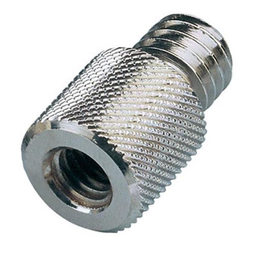 "K&M 219 3/8"" Female to 1/2"" Male Thread Adapter (Zinc)"