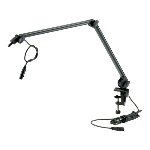 K&M 23860 Microphone Desk Arm (Black)