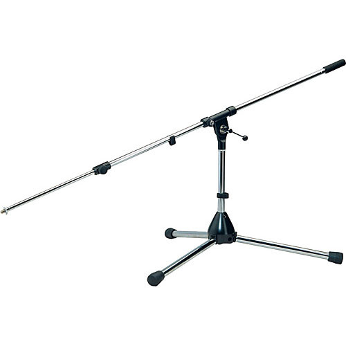 K&M 255 Low Level Microphone Stand (Black)