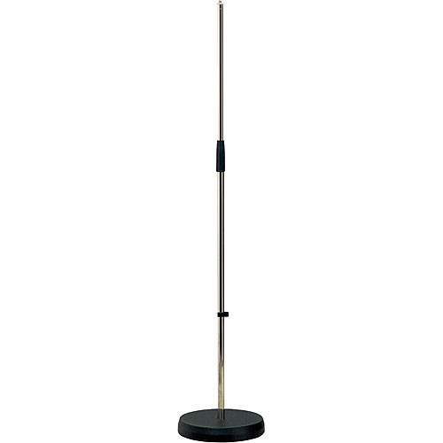 K&M 260 Straight Microphone Stand (Nickel)