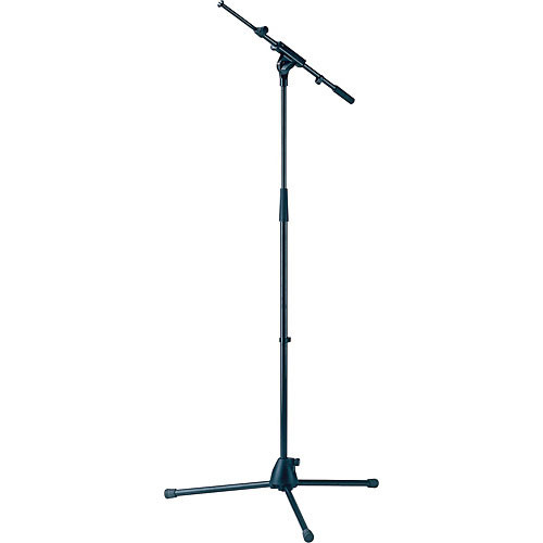 K&M 27195 Microphone Stand with Extendable Boom