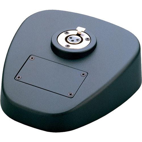 K&M 29390 Microphone Table Base (Black)