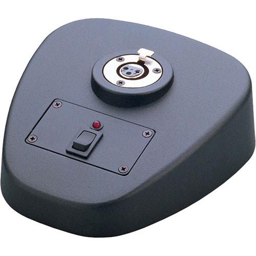 K&M 29394 Microphone Table Base (Black)