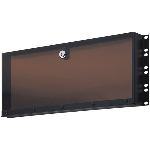 K&M 493/3 Plexiglass Security Cover, 4 Space