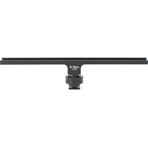 "K-Tek KTBAR9 Aluminum Camera Shoe Bar (9"")"