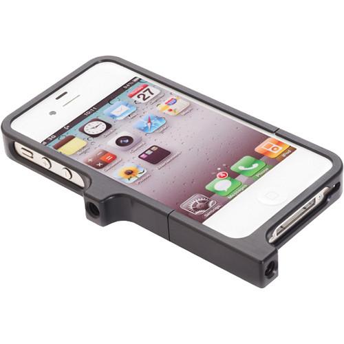 K-Tek Aluminum Case for iPhone 4 & 4S (Black)