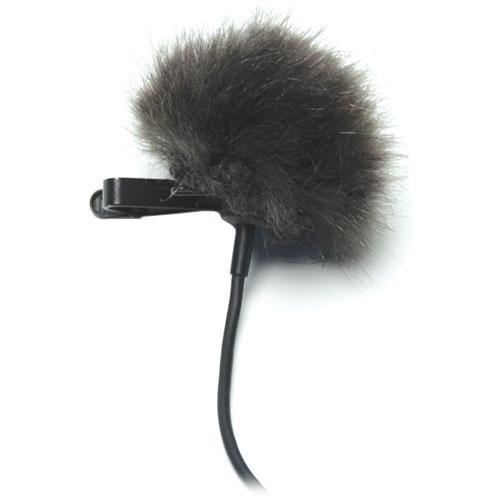 K-Tek KTFLTB - Fuzzy Topper Windscreen for Lavalier Microphones (Black)