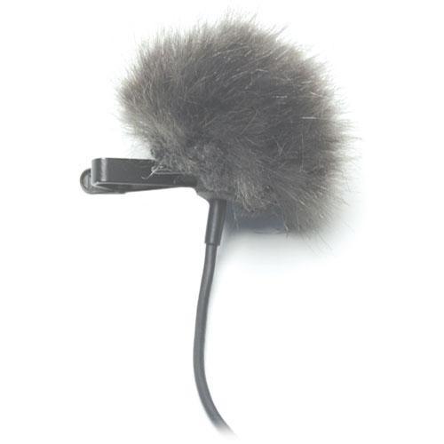 K-Tek KTFLTG - Fuzzy Topper Windscreen for Lavalier Microphones (Grey)