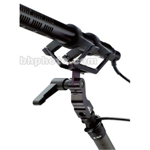 K-Tek Adjustable Boompole Shock Mount with Ultra Soft Suspenders