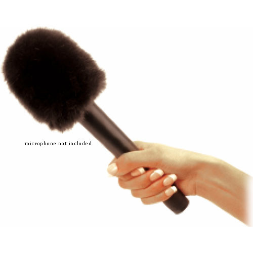 K-Tek Topper Windscreen for Handheld Microphones (Faux Fur)