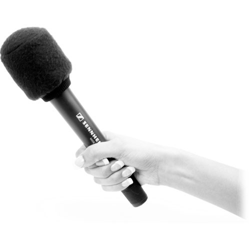 K-Tek Topper Windscreen for Handheld Microphones (Fleecy)
