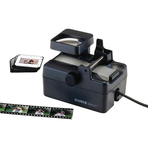 Kaiser 2115 AC Illuminated 35mm Film Cutter