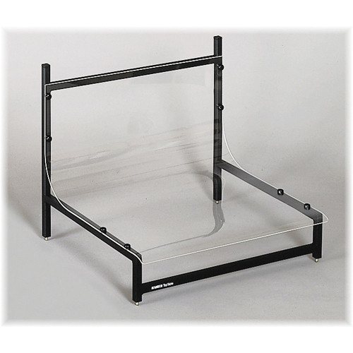 Kaiser Small Add-on Product Table with Clear Plexiglass