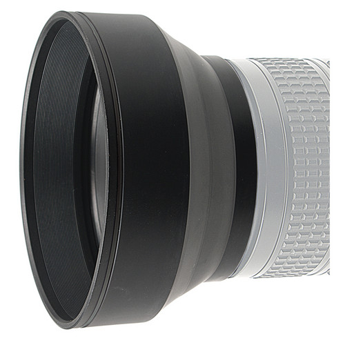 Kaiser 55mm 3-in-1 Rubber Lens Hood