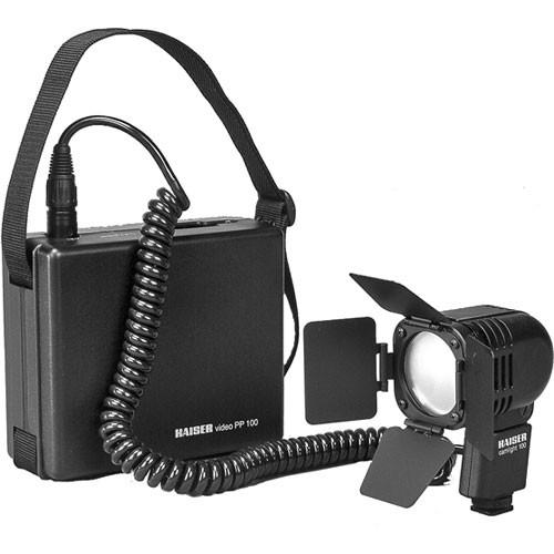 Kaiser 93310 Camlight 100 On Camera Light Kit