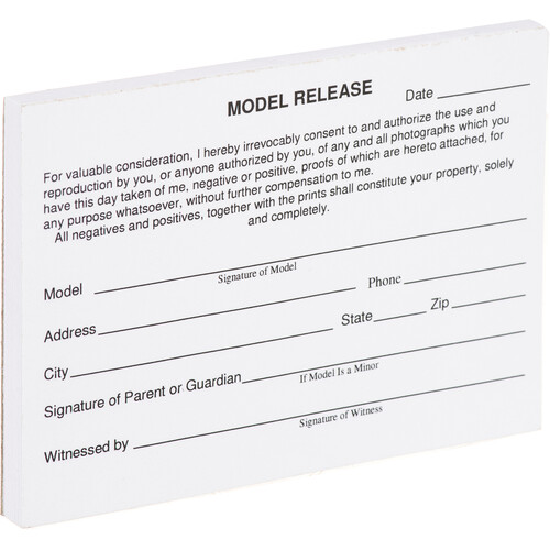 Kalt Model Release Cards