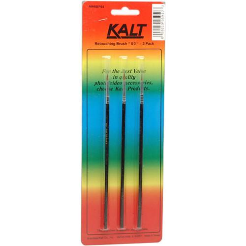 Kalt Sable Retouching Brush #00 (3-Pack)