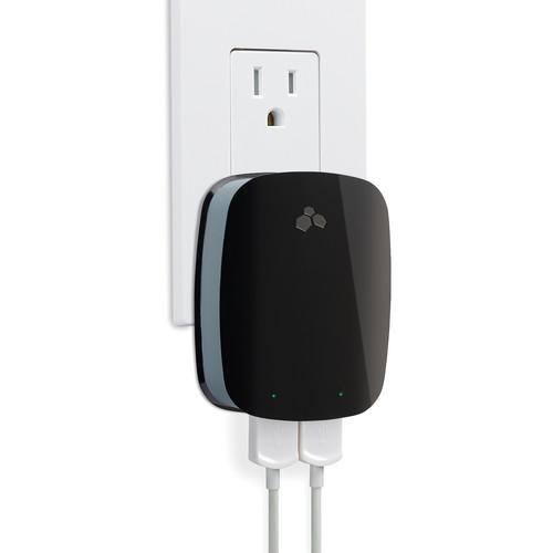 Kanex DoubleUp Dual USB Charger for iPad, iPhone & iPod (High Gloss Black)