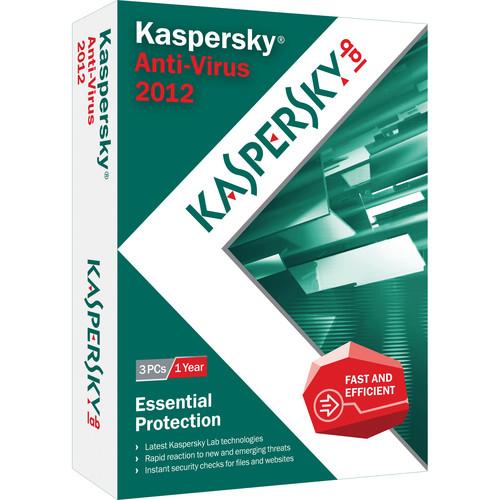 Kaspersky Anti-Virus 2012 - 3-User / 1-Year
