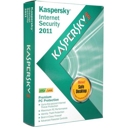 Kaspersky Internet Security 2011 Software (3-Computer License)
