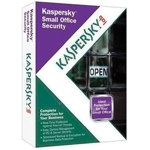 Kaspersky Small Office Security Software (10-User) - 1-Server