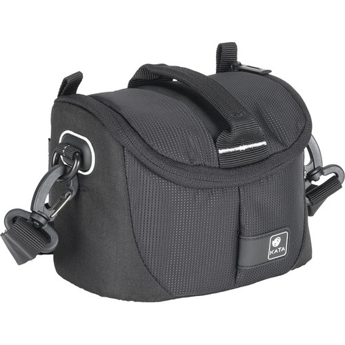 Kata Lite-433 DL Shoulder Bag for a Compact DSLR, Mirrorless Camera or Handycam (Black)