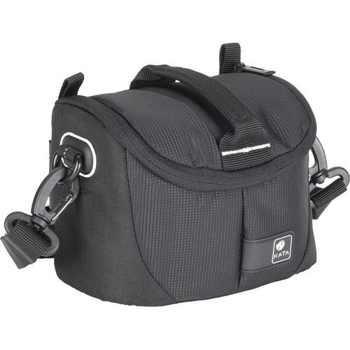 Kata Lite-433 DL Shoulder Bag for a Compact DSLR, Mirrorless Camera or Handycam (Black)