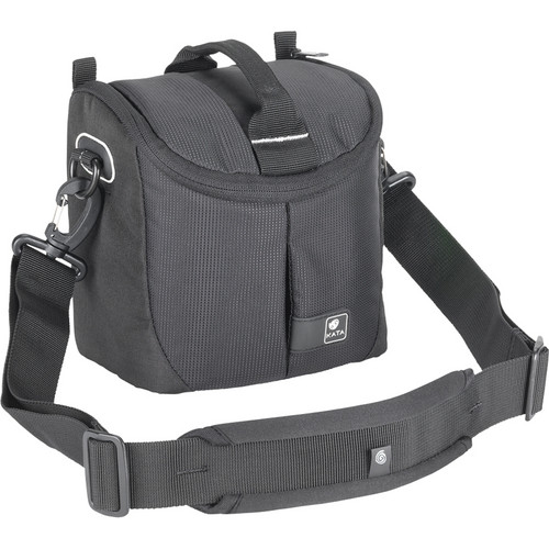 Kata Lite-435 DL Shoulder Bag for a Compact DSLR with Standard Zoom or Handycam (Black)