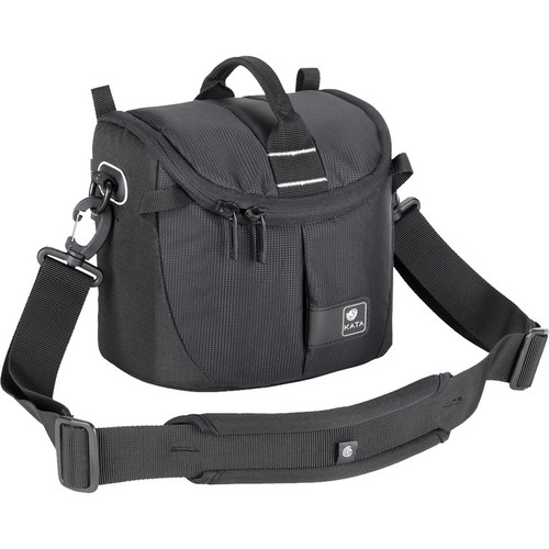Kata Lite-437 DL Shoulder Bag for a DSLR with Standard Zoom Lens or Handycam (Black)