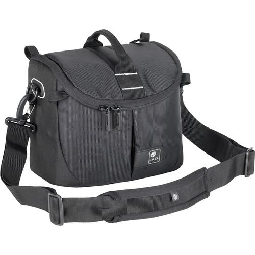 Kata Lite-439 DL Shoulder Bag for a DSLR with Standard Zoom in Shooting Position or Handycam (Black)