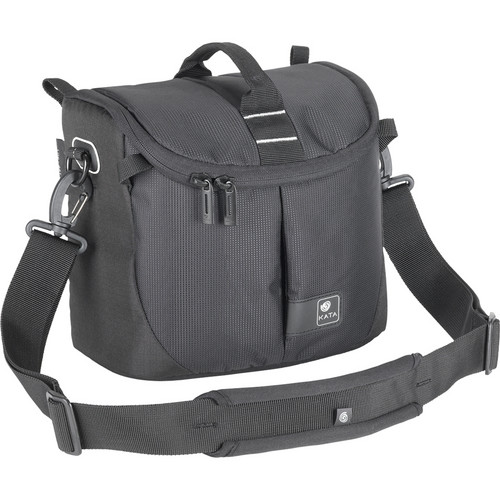 Kata Lite-441 DL Shoulder Bag for a DSLR with Zoom Lens or Camcorder (Black)