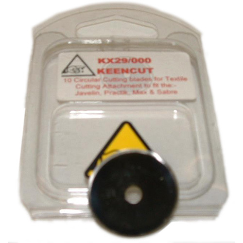 KeenCut 69141 Fabric Cutting Wheel (10-Pack)